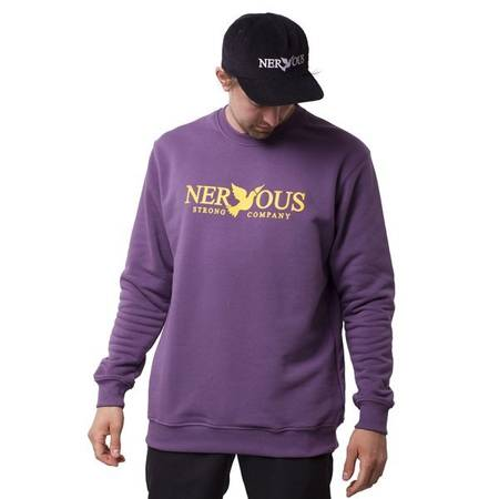 Bluza Nervous Crew Classic Grape