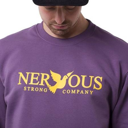 Bluza Nervous Crew Classic Grape
