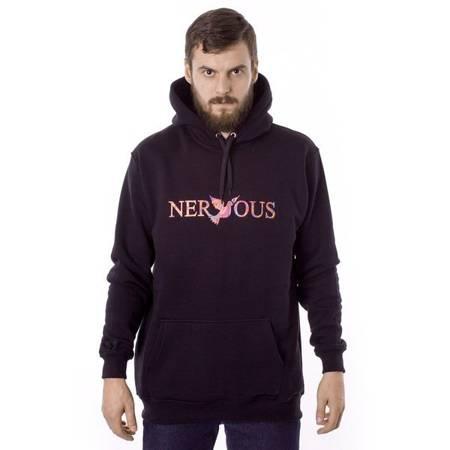 Bluza z kapturem Nervous Classic Black / Acid