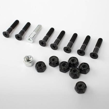 Montażówki Nervous Black/Silver