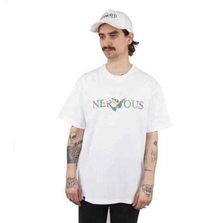 T-SHIRT NERVOUS CLASSIC ACID WHITE