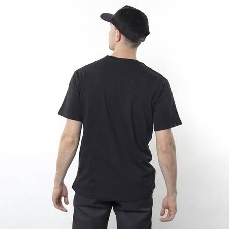 T-SHIRT NERVOUS WAVE BLACK
