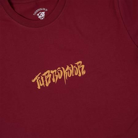 TURBOKOLOR T-SHIRT CLASSIC BURGUNDY