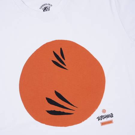 TURBOKOLOR T-SHIRT RISING SUN WHITE